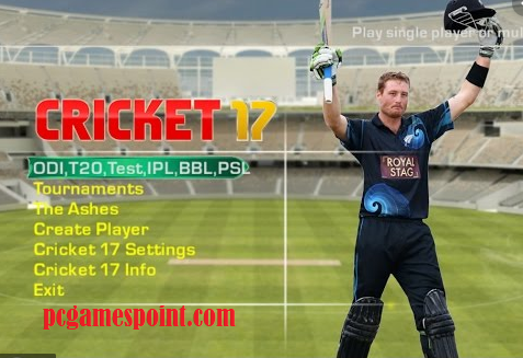 EA Cricket 17 Free Download