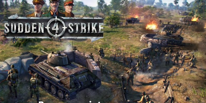 Sudden Strike 4 For PC Download